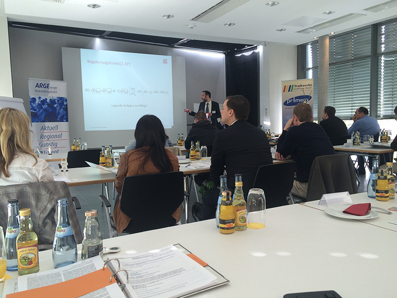 Workshop Anreizregulierung am 27.04.2016 in Sindelfingen